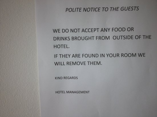 Hotel Sempati: Be warned