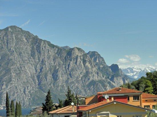 Hotel Ariston: View from private veranda