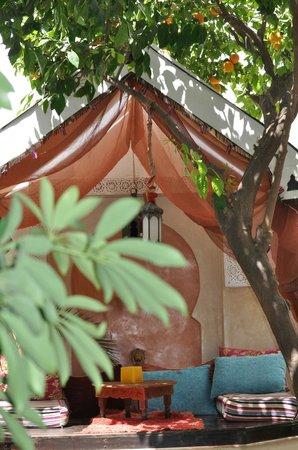 Riad Aguerzame: le lieu détente