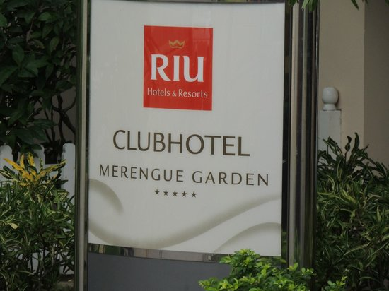 ClubHotel Riu Merengue : entrance