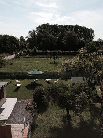 Il Giardino dei Poeti: Vista dalla camera