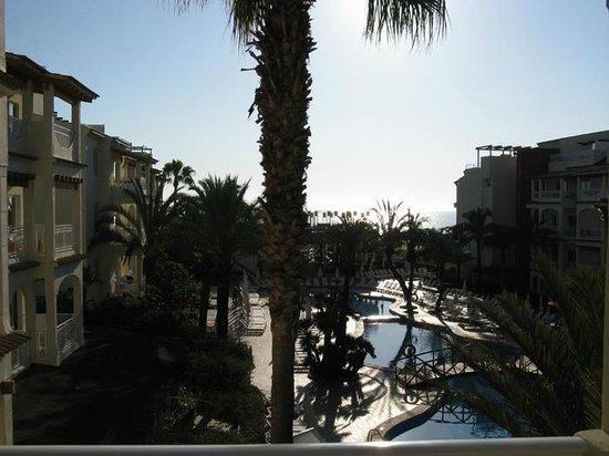 Hotel Viva Bahia : Blick vom Balkon (Gebäude 2), 2. Etage