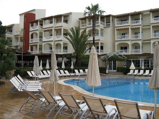 Hotel Viva Bahia : Blick auf den Gebäudeteil 2 (es gibt 1, 2 und 3)