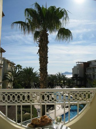 Hotel Viva Bahia : Blick vom Balkon (2. Etage) Apartment