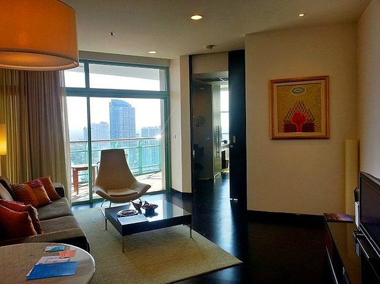 Chatrium Hotel Riverside Bangkok: Club Suite One-Bedroom