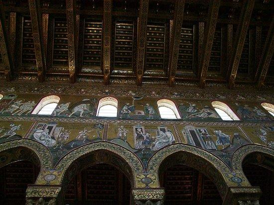 Duomo di Monreale: Pareti laterali