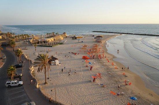 Margoa Hotel Netanya: Пляж