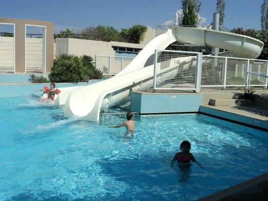 Grecotel Creta Palace Hotel: piscine toboggan