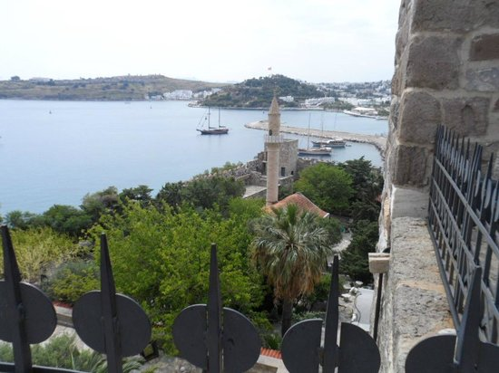 Castle of St. Peter : lovely bay view