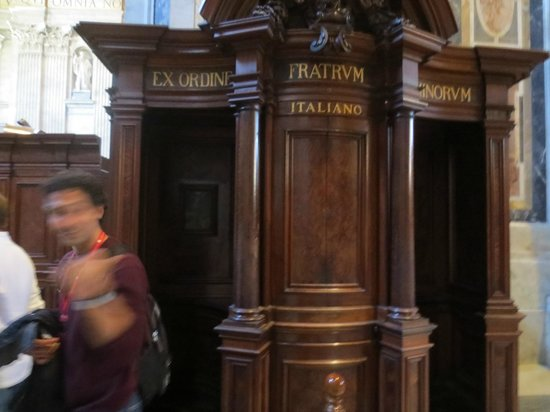 Private Guides of Italy - Day Tours & Excursions: HIstorical confessional
