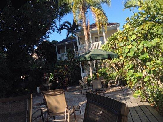 The Duval House: Jardin tropical