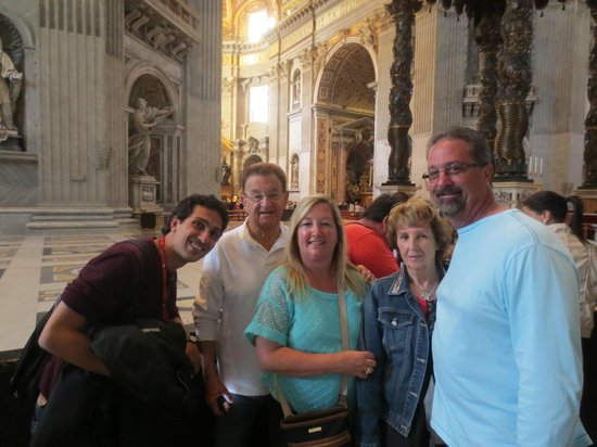 Private Guides of Italy - Day Tours & Excursions: Tommaso & our family