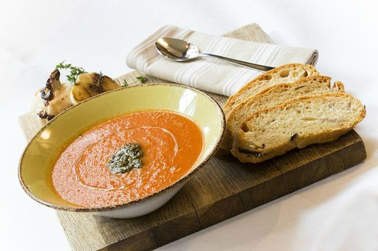 The Kings Arms Hotel: Homemade soups and bread