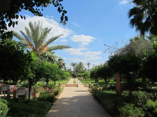 IBEROSTAR Club Palmeraie Marrakech: Entering the garden