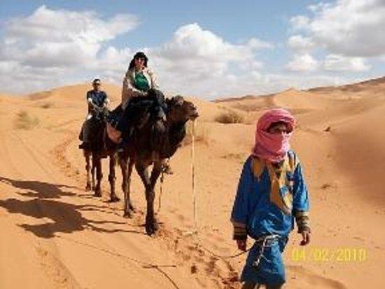 Desert Berber Fire-Camp: trip by camel