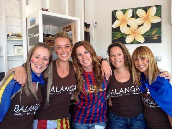 Balangan Bar: Dias de futbol
