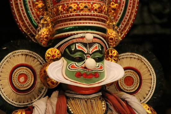 Image result for kathakali make up