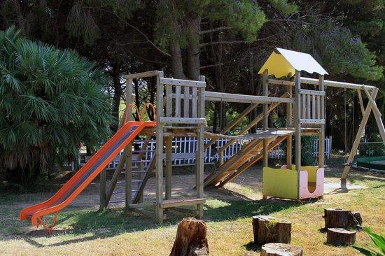 Camping La Rueda : Parque Infantil
