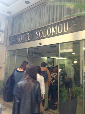 Hotel Solomou Athens: facade de l'hôtel