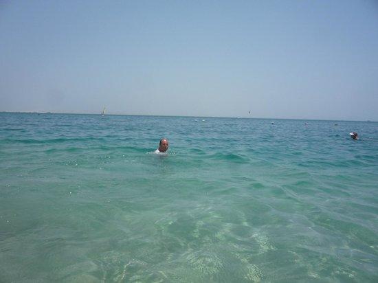 Siva Grand Beach Hotel : море