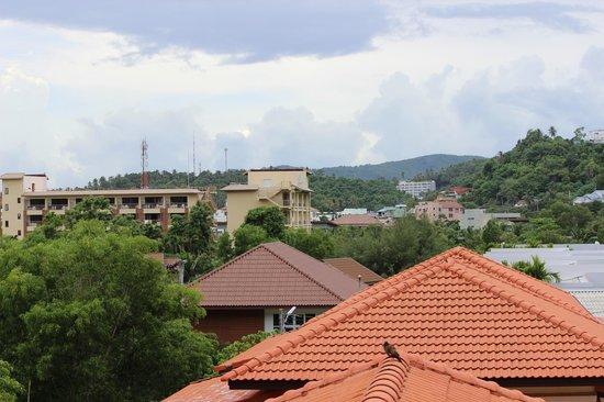 Casa e Mare: Вид с балкона номера 12