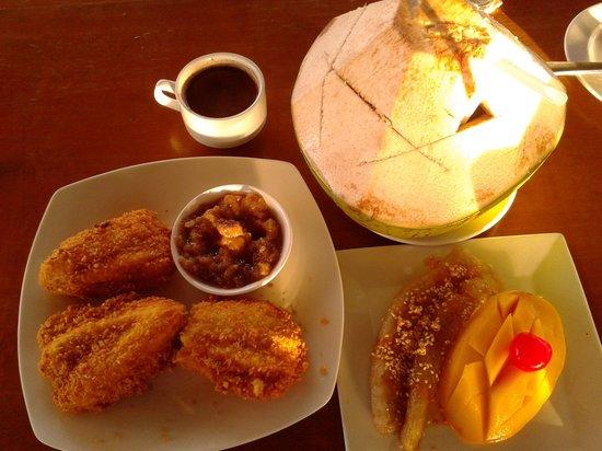 Seablings Seafoods Restaurant: stopping for merienda