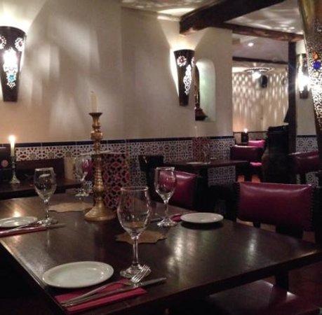 Cafe Mauresque : Lovely decor