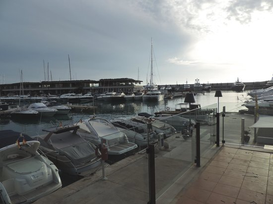 Port Adriano: Marina at Dusk
