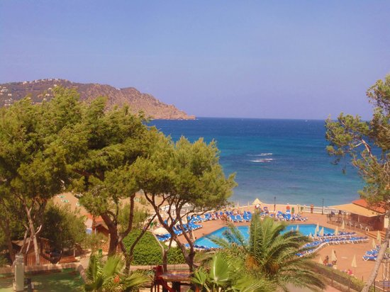 Invisa Hotel Club Cala Blanca: view from our room