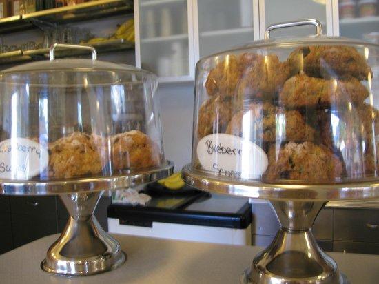 Sugar Pine Cafe: Great scones!
