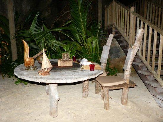 Beachcomber Sainte Anne Resort & Spa : Restaurante Robinson