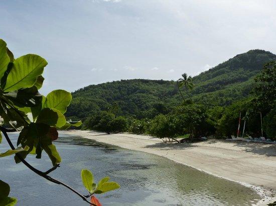 Beachcomber Sainte Anne Resort & Spa : Playa isla