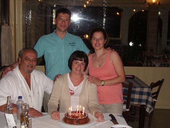 Zorba's Taverna : Geburtstag im Zorba's