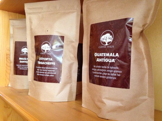 St. John Cafe Shop : Fresh roasted coffee from Coffer Haus