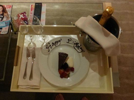 Andaz Wall Street: Happy Birthday