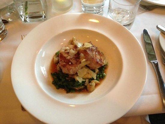 Granite Restaurant and Bar: pork special