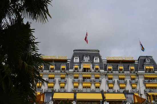 Grand Hotel Suisse Majestic seen from the promenade