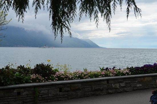 Grand Hotel Suisse Majestic : Promenade