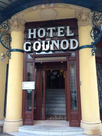 Hotel Gounod Nice: Hotel entrance