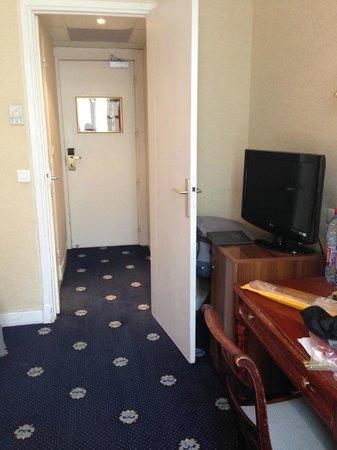 Hotel Gounod Nice: Twin bedroom