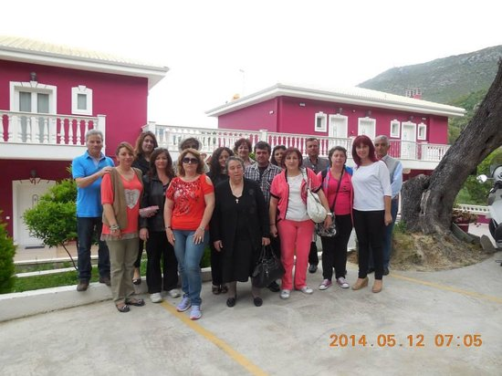 Hotel Parga Princess: Our group from Psara Island