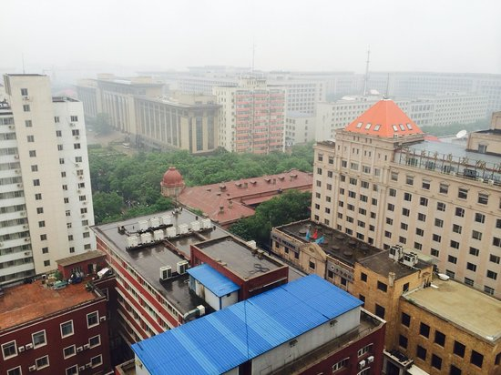 Capital Hotel Beijing: BJ air quality is not so great.