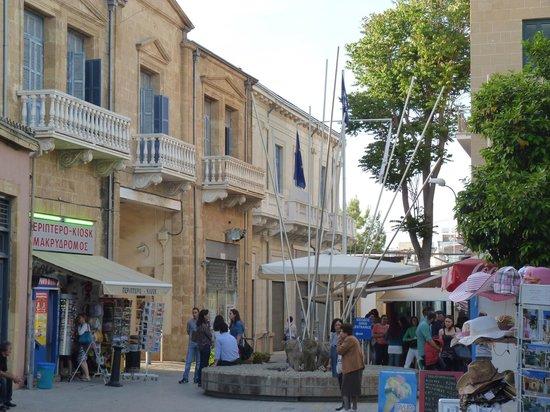 Ledra Street Crossing Point: check point