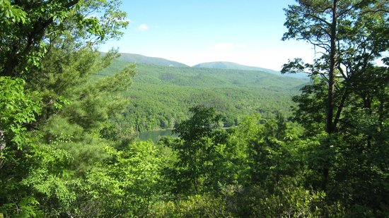 Douthat State Park: Buck Hollow Trail Overlook