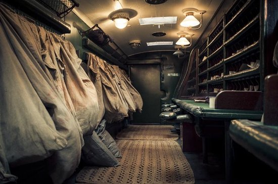 National Railway Museum: Old Train Mailroom