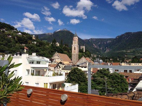 Hotel ImperialArt: Blick von der Dachterrasse