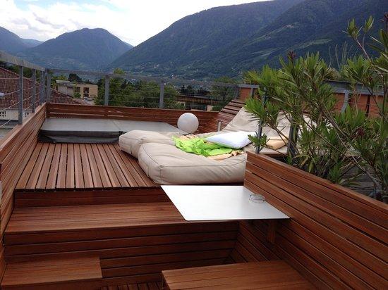 Hotel ImperialArt: Blick über die Dachterrasse