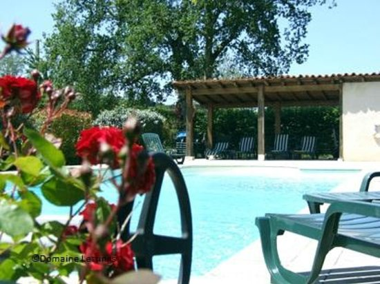 Domaine De Brantome Holiday Rentals : Inviting crystal clear water of the swimming pool
