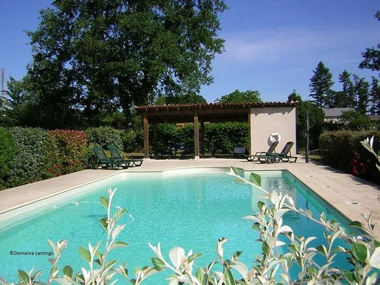 Shimmering Crystal Clear Water Of The Swimming Pool Picture Of Domaine De Brantome Holiday