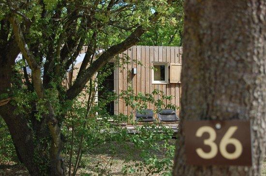 Lodges en Provence : lodge bois